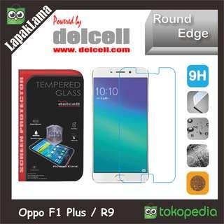 Tempered Glass Delcell Oppo F1 Plus  R9  F1+ Screen Guard Protector