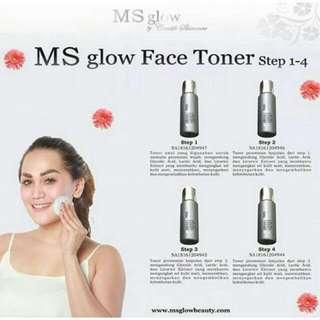Face Toner MS GLOW ORIGINAL 100% BPOM
