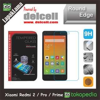 Tempered Glass Delcell Xiaomi Redmi 2 2s  Pro  Prime Screen Guard