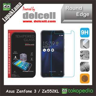Tempered Glass Delcell Asus Zenfone 3 5.5 Inch  Ze552KL Screen Guard