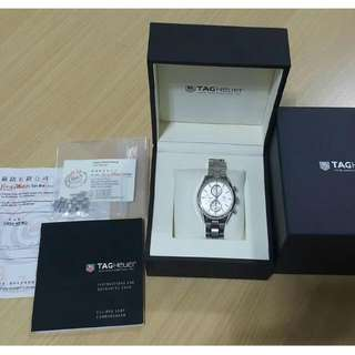 ORIGINAL Tag Heuer Carrera Calibre Chronograph Silver Men