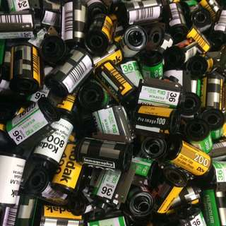 used film canister