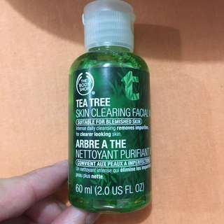 Body Shop Tea Tree Oil