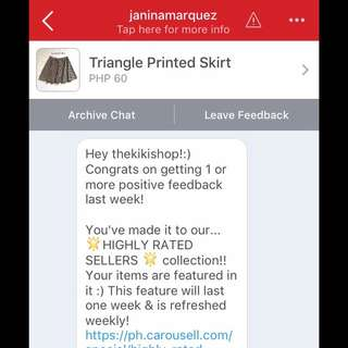 Highly Rated Seller! 😍✨