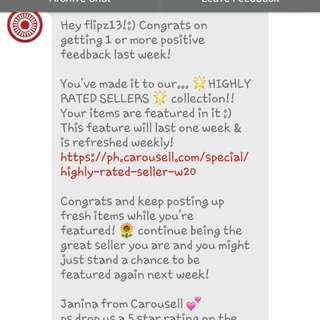 Thank You Carousell. 😊