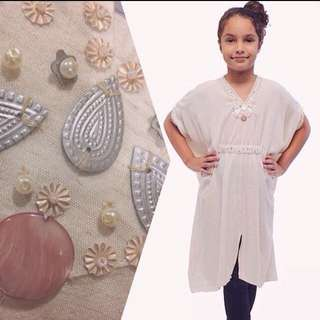 Girls 6-9yo Kaftan anak