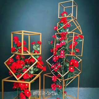 Wedding Metal Box Cube Display