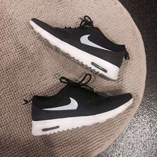 Nike Air Max Thea Sneakers In Black