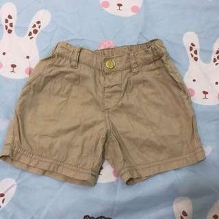 🚚 H&M 卡其金沙短褲