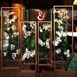 Wedding Metal Frame Display