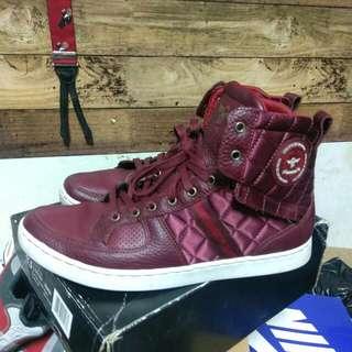 Creative Recreation 酒紅色高筒球鞋 #二手品牌好鞋