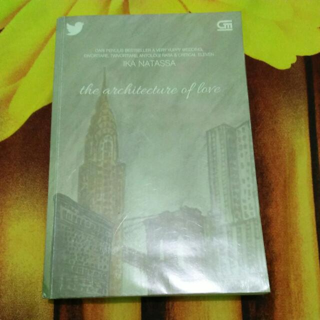 50rb The Architecture Of Love By Ika Natassa