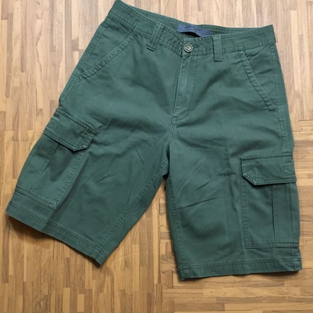 口袋工作短褲