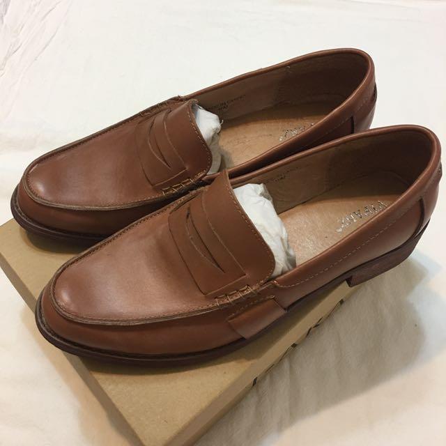 二手⚠️ 英倫真皮樂福鞋 棕色 40號