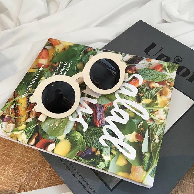 🌺全新現貨!韓妞復古圓圓眼鏡 #小清新 #質感 #墨鏡 #搭配 #夏天 #太陽眼鏡