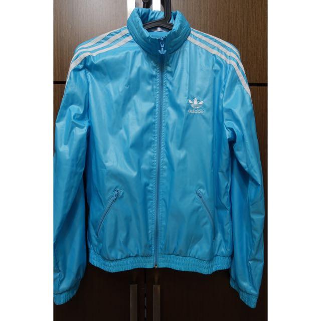 二手⚠️ Adidas 愛迪達三葉草防風外套 40碼