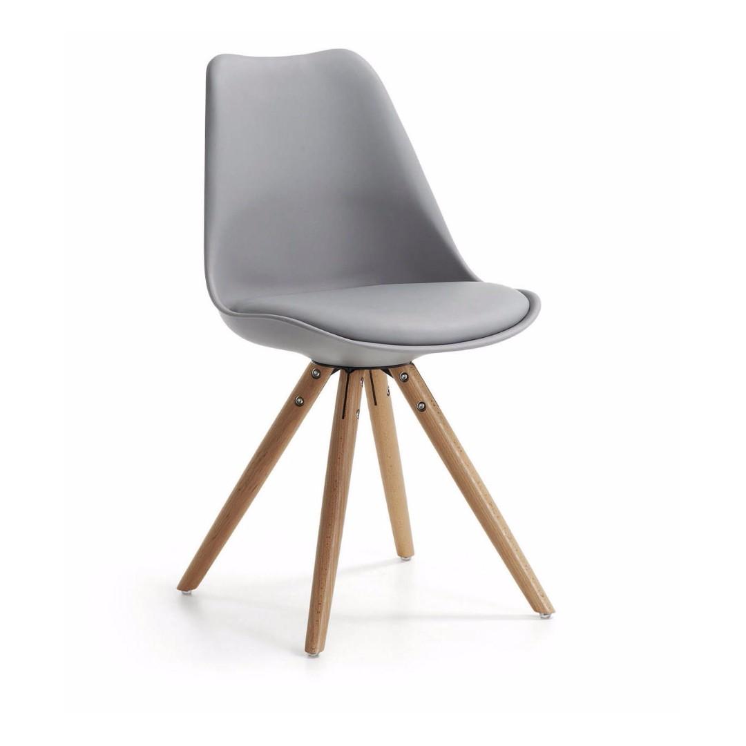 #我要賣傢俱 北歐瑞士 Eames Chair 伊姆斯 餐椅 復刻設計款 楓木椅 北歐簡約風 椅子 IKEA
