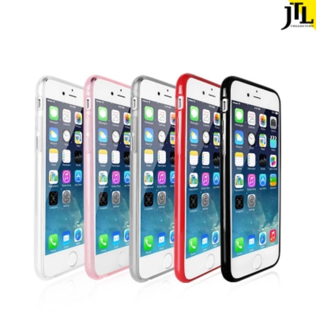 轉賣 JTL IPHONE 6 plus 6s plus Q彈全包雙料防震圈手機殼 5.5吋
