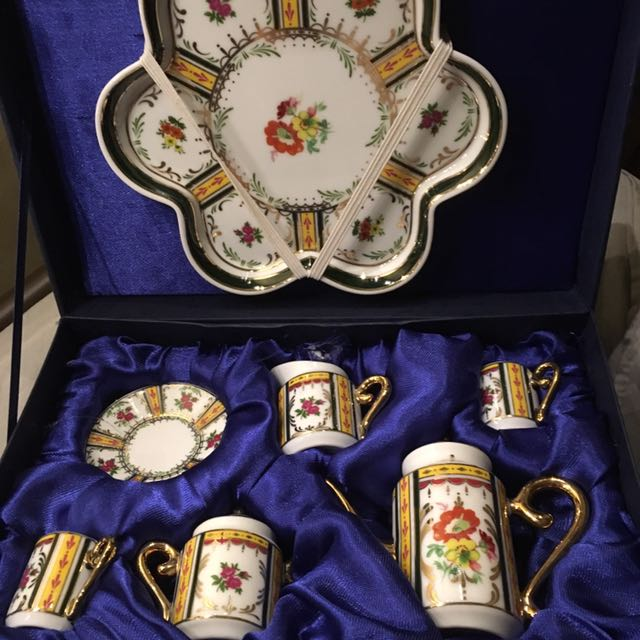 Adeline Fine Porcelains Miniature Tea Set