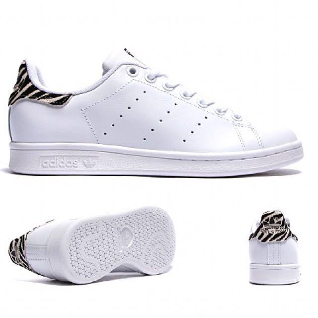 Adidas Originals Stan Smith W Animal Print, Men's Fashion, Footwear on Carousell