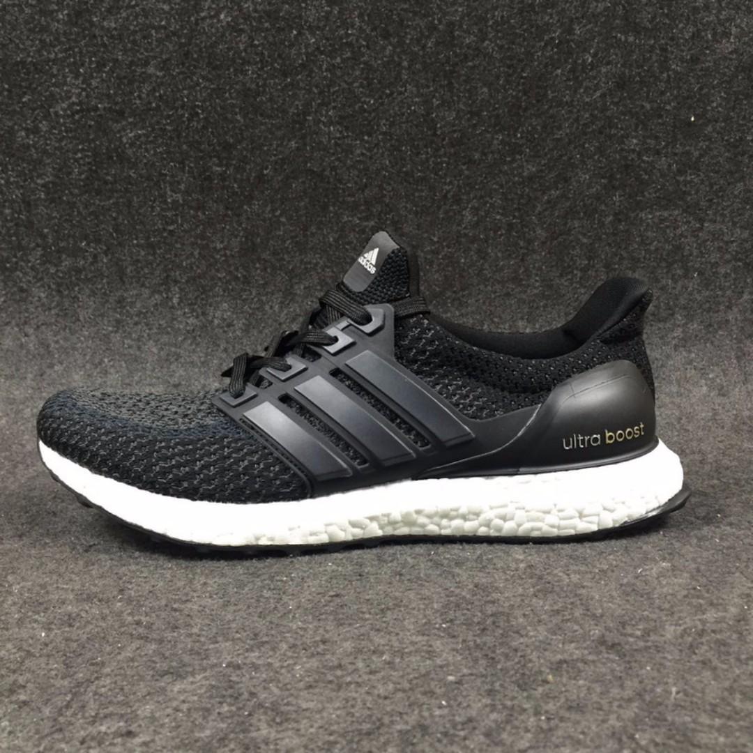 0e0daebd716 Adidas Ultraboost 2.0 Black White