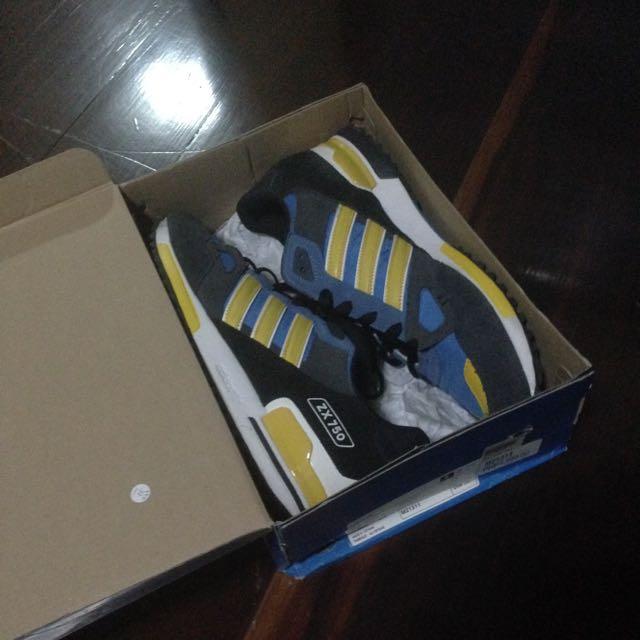 Adidas ZX750 Blue Yellow
