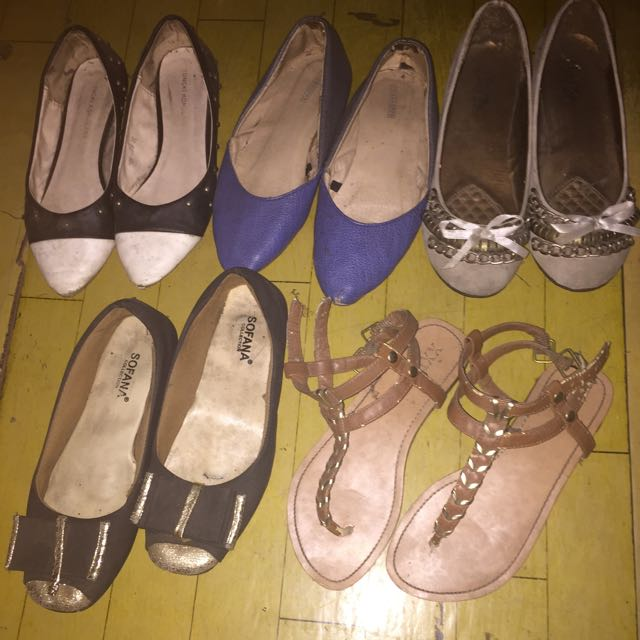 All Shoes 100.000=5 Pcs