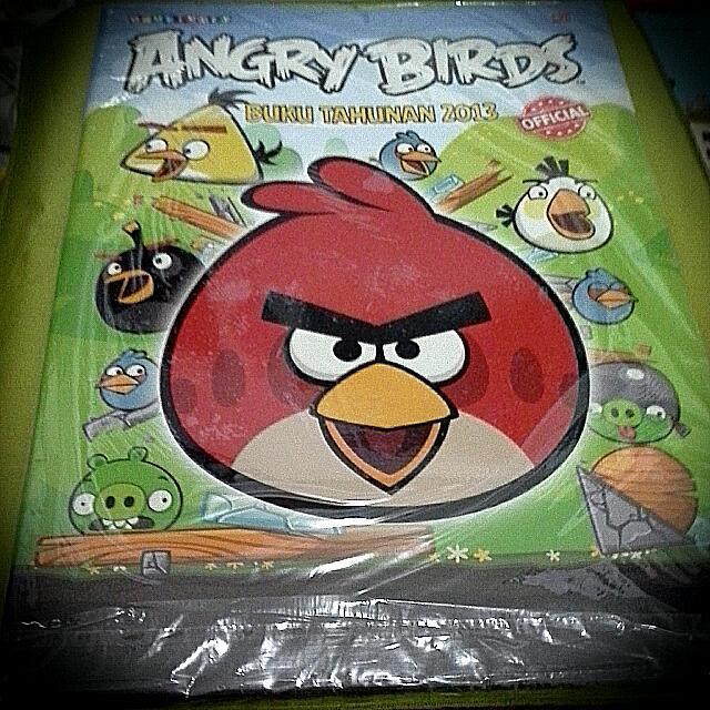 Angry Birds| Buku Tahunan | Aktivitas Anak | Cerita Anak