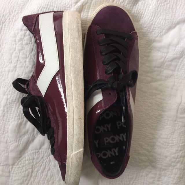Aubergine PONY Sneakers 👟