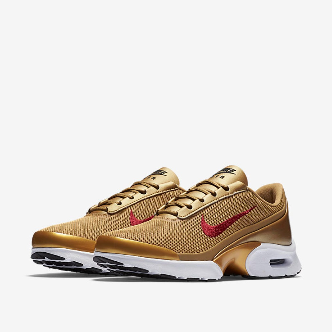 bosque para castigar Ewell  Authentic NIKE Women's Air Max Jewell QS (Metallic Gold / Varsity ...
