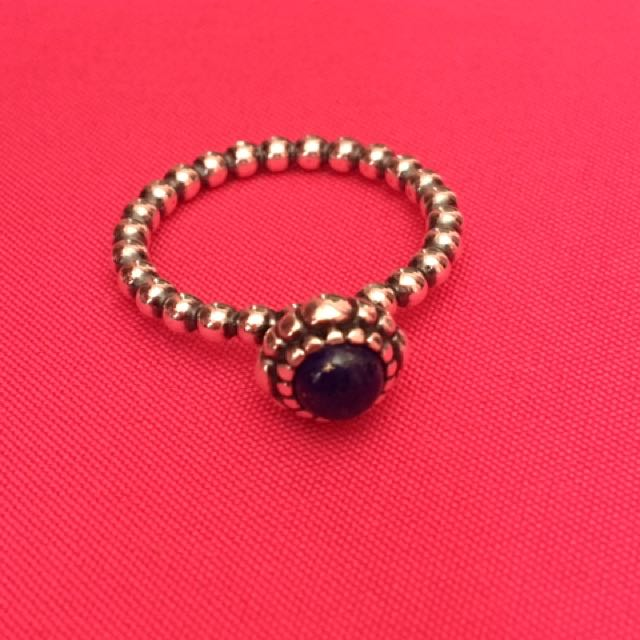 Authentic Pandora September Birthstone Ring
