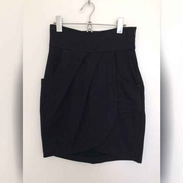 Bettina Liano High-waist Tulip Skirt