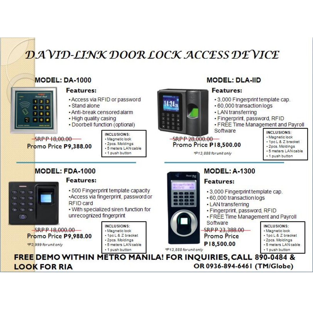 Biometric door lock finger scanner- password - rfid reader