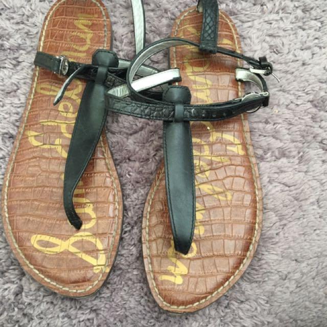 Black Sam Edelman Sandals