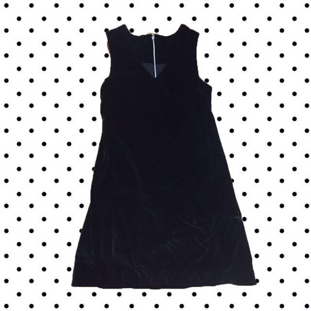 """Bludru"" Black Dress"