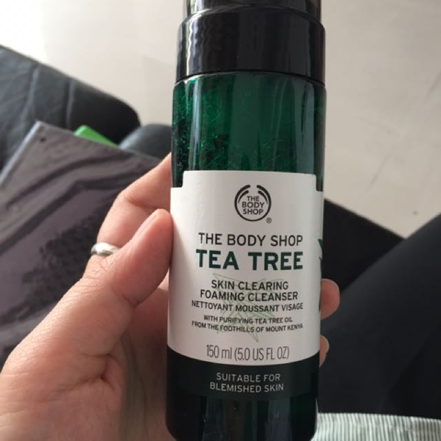 Body Shop Tea Tree Cleanser