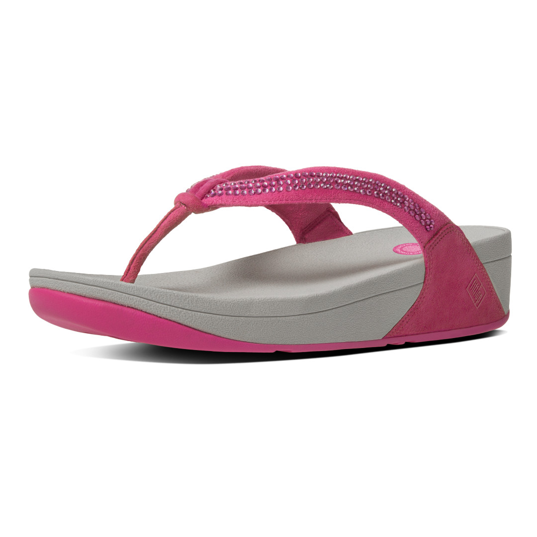 83fc0bd672141 BRAND NEW FitFlop Crystal Swirl Flip Flops on Carousell