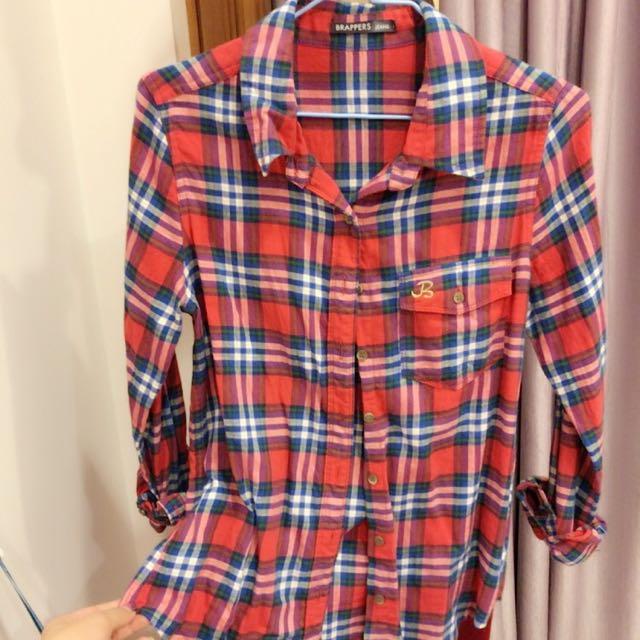 BRAPPERS品牌格子襯衫