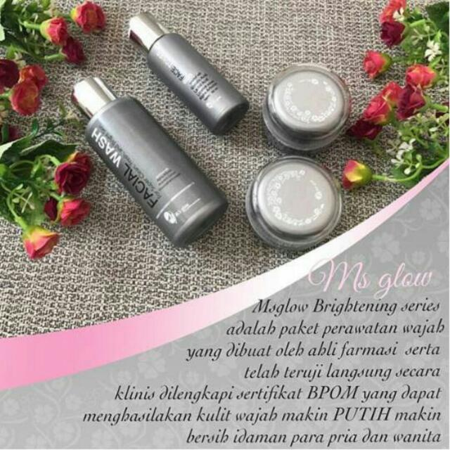 Brightening Series MS GLOW ORIGINAL 100% BPOM