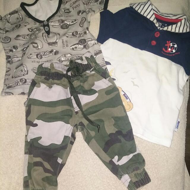 Buy All 3 Baby Boy's Clothing