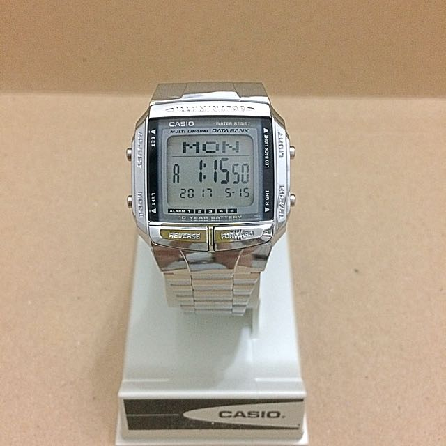 Casio Illuminator DB360-1AV Databank Watch