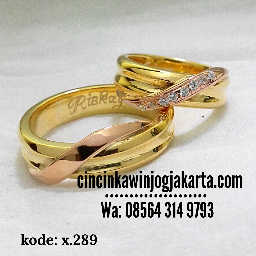 Cincin Kawin Pernikahan Perkawinan Couple Paladium Palladium X289 Olshop Fashion Wanita On Carousell