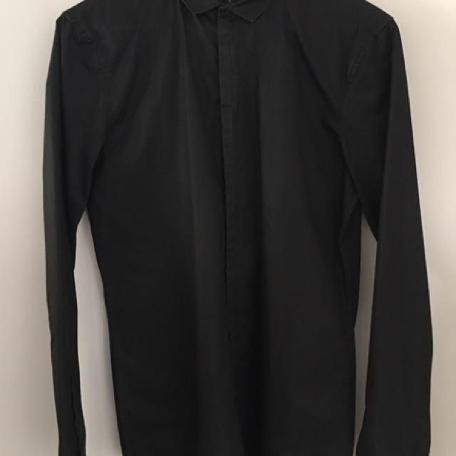 Claude Maus Waxed Cotton Shirt.