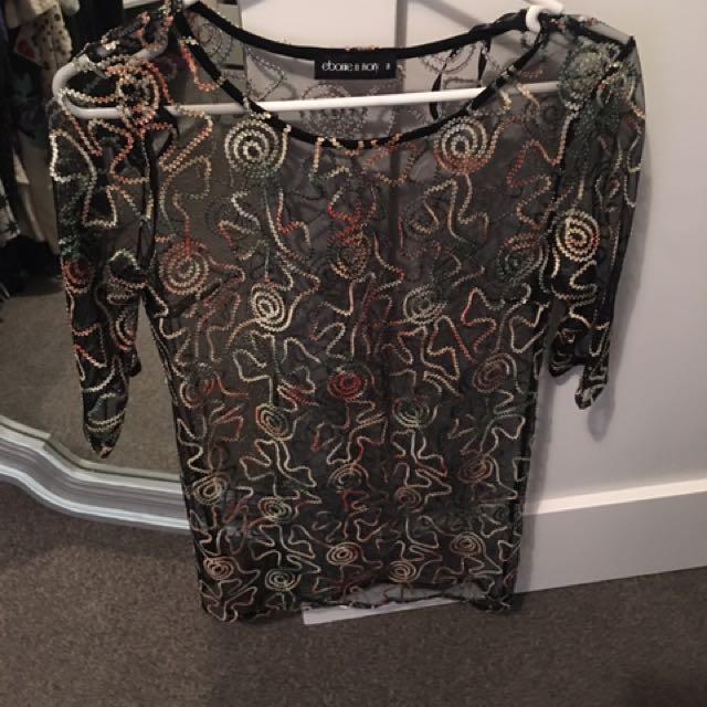 Ebonie N Ivory Dress