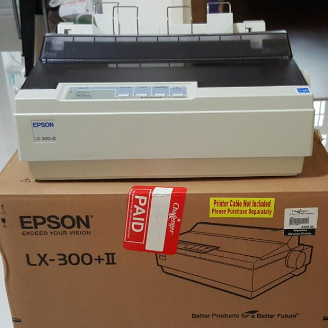 Epson LX-300+II Dot Matrix Printer, Electronics, Others on