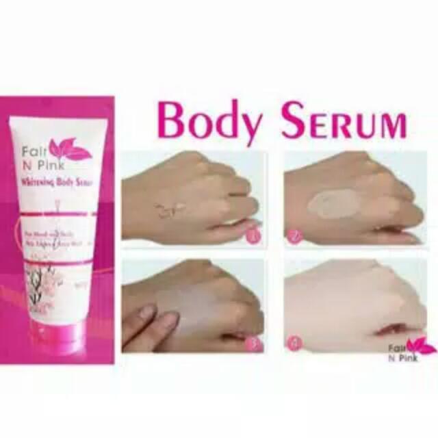 Fair N Pink Body Serum