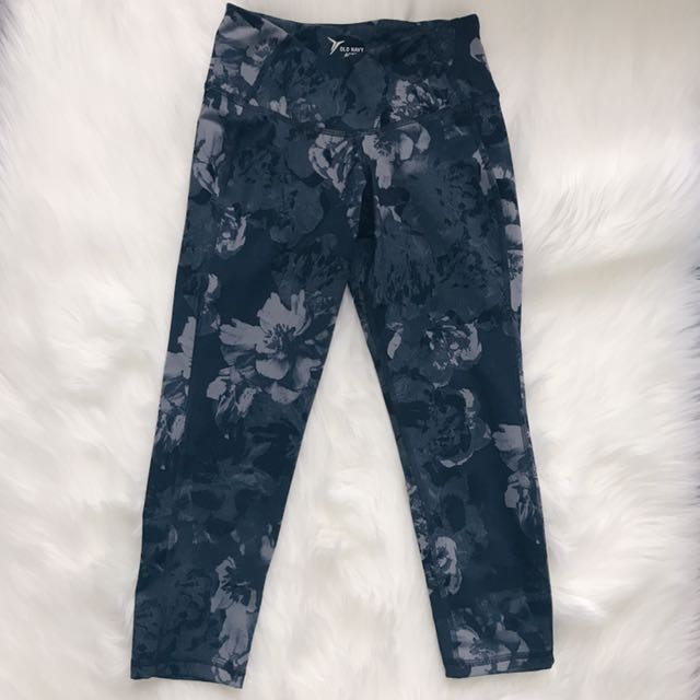 Floral Capri Leggings  // Old Navy