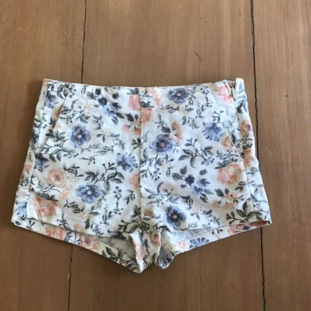 Forever 21 Floral Summer Shorts