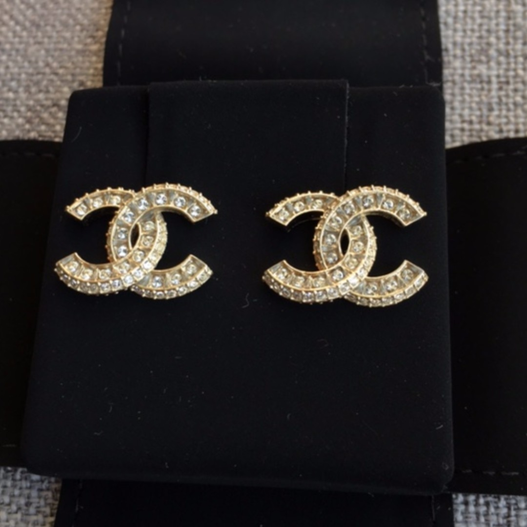 a29ec275 Chanel Earrings Double C Real Price - Best All Earring Photos ...