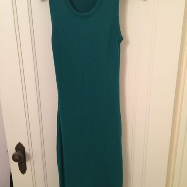 Green Wilfred Free Midi Dress